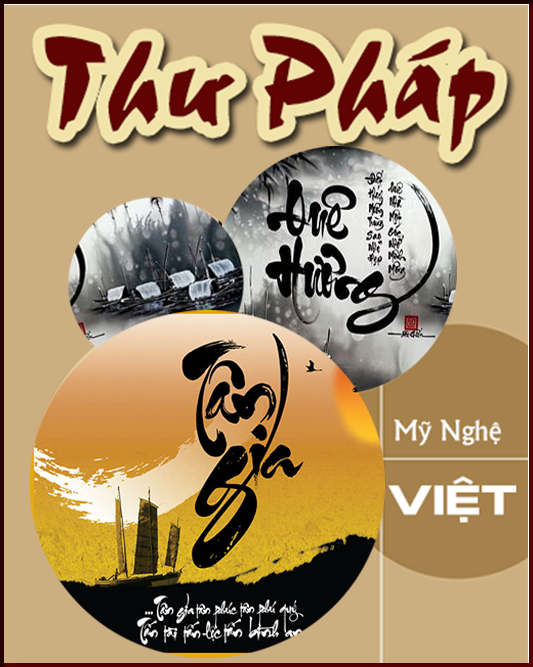 Tranh thư pháp - Tranh gốm