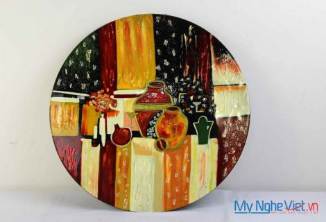Lacquer painting MNV75/2