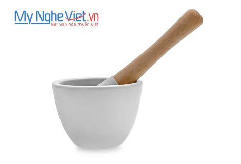Mortar and Pestle Type A size 2 MNV-MPA-2 (White)