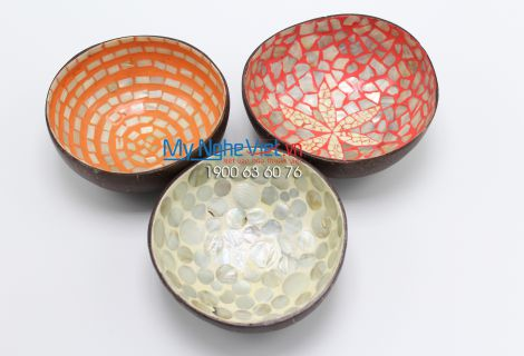 Lacquer Painting Coconut Cup MNV-CDSM02