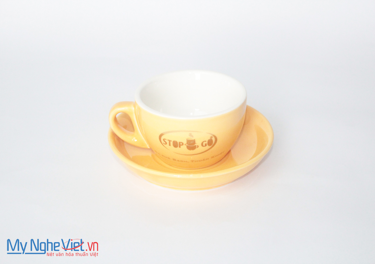 Ly Sứ In Logo MNV-LSL11