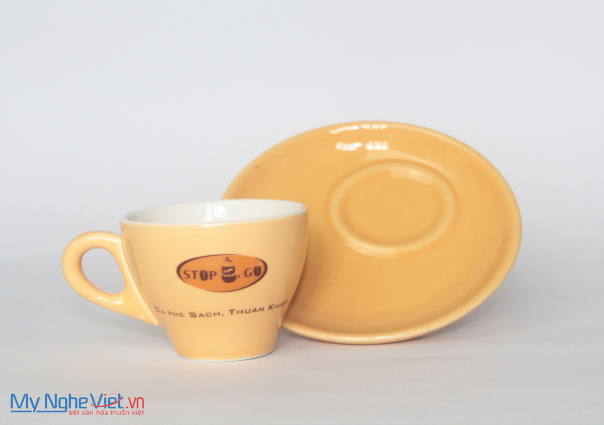 Ly Sứ In Logo MNV-LSL10