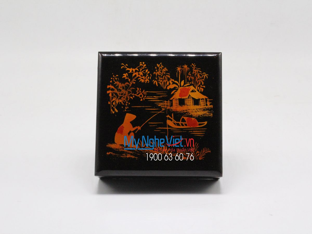 Lacquer Painting Coaster MNV-DLL003