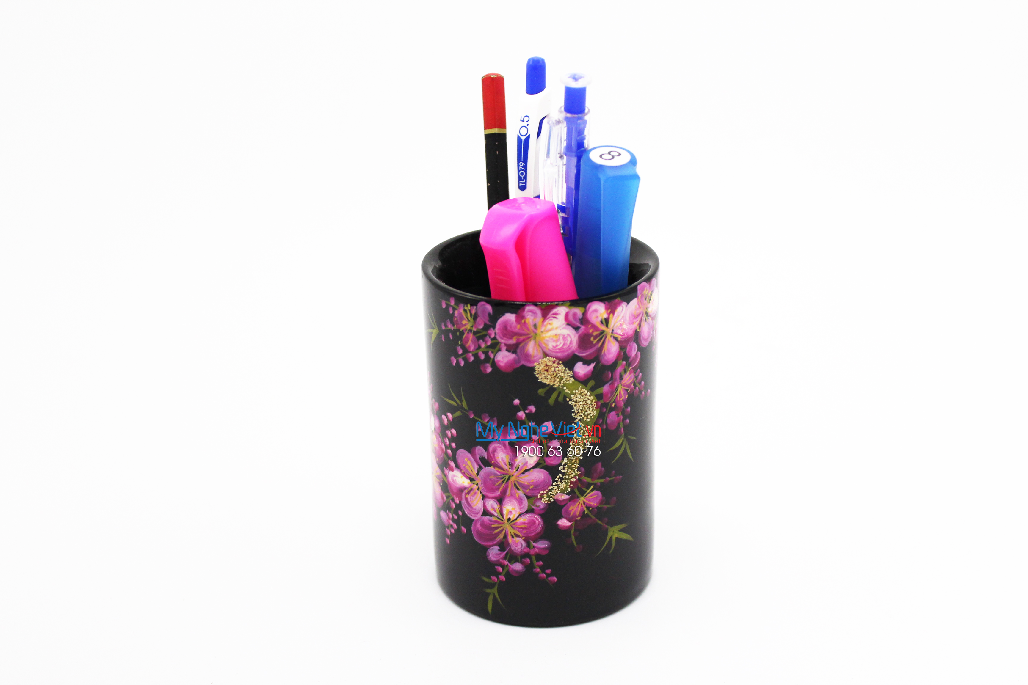 Apricot and Peach painting pen holder MNV-HCB3