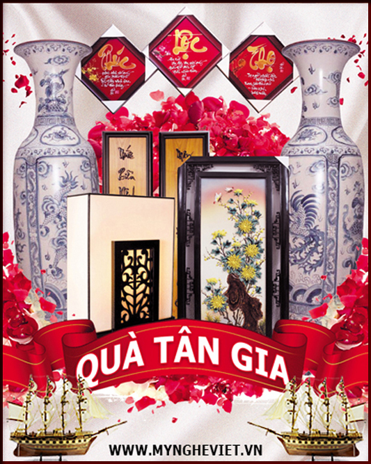 Quà tân gia, khai trương